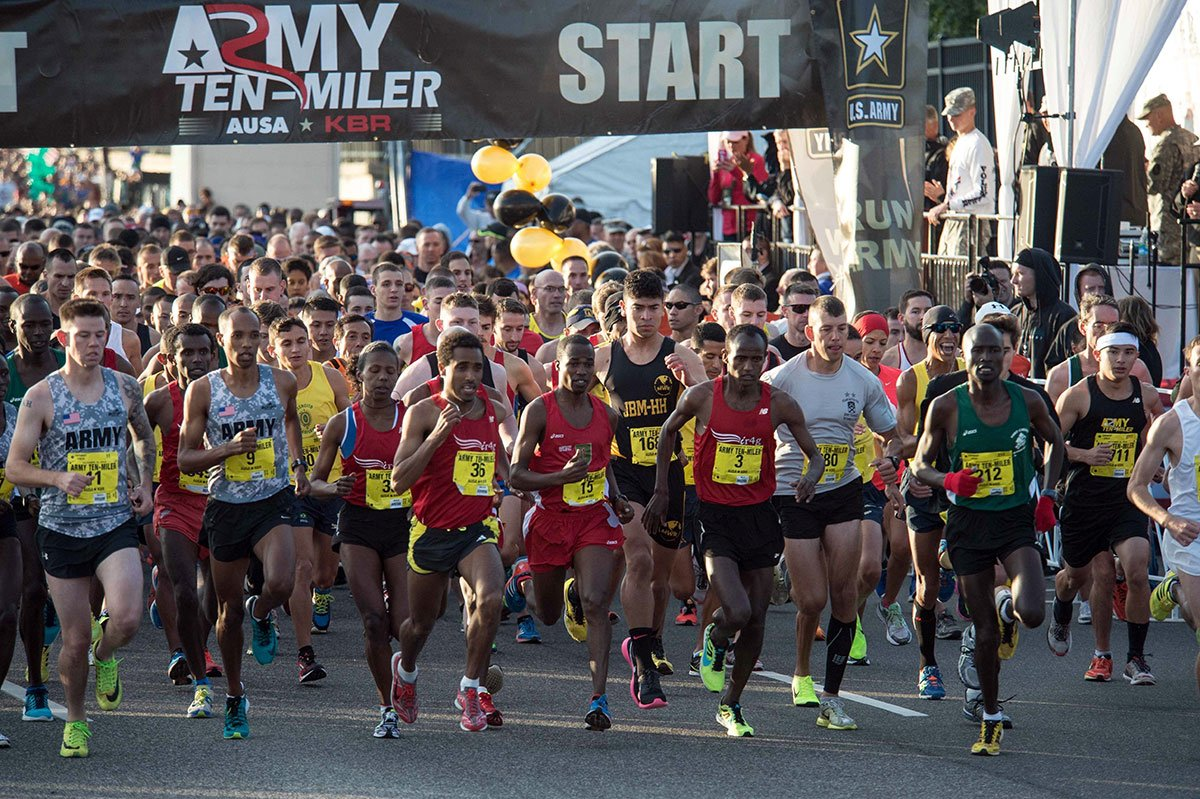 Arlington Army 10 Miler Road Race