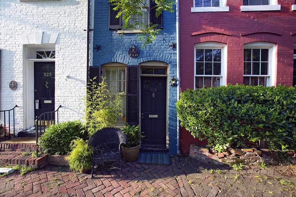 Skinniest historic house in America